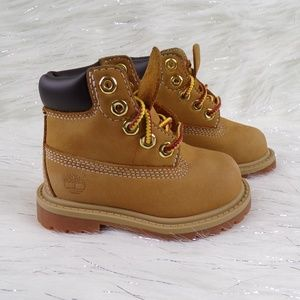 Baby Timberland Classic Wheat Boots Size 4